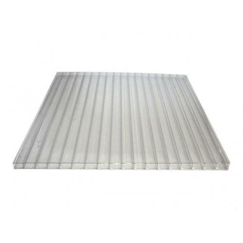 Поликарбонат сотовый ACTUAL (0,6) 4мм Прозрачный