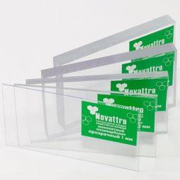 NOVATTRO монолитный пк/палетта 200 листов (Прозрачный)