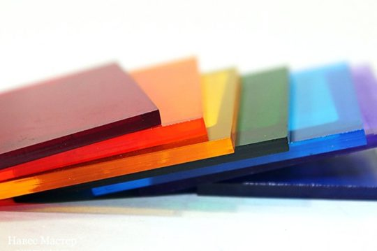 Поликарбонат монолитный (Цветной)