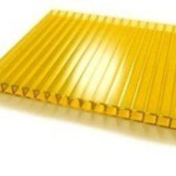 NOVATTRO панель многослойная из ПК Желтый