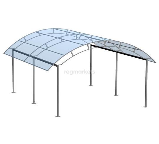 Автонавес  (труба 25*25 (шаг 2м)) ширина 3 м